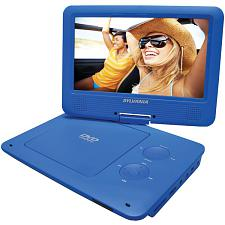 "Sylvania Sdvd9020B-Blue 9"" Portable Dvd Player With 5-Hour Batte"