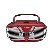 Sylvania Srcd211-Red Retro Portable Cd Radio Boombox