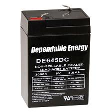 American Hunter De645Dc / 6V 4.5 Amp Hr Rechargeable Battery / T