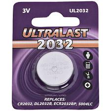 Ultralast Ul2032 Ul2032 Cr2032 Lithium Coin Cell Battery