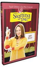 Signing Time Series 1: My Day DVD 10 823860000375