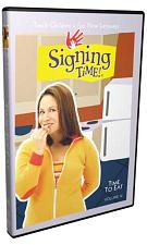 Signing Time Series 1: Time to Eat DVD 12 823860000399