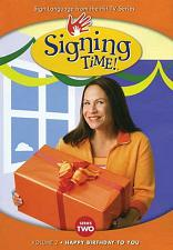 Signing Time Series 2 Vol 2: Happy Birthday to You DVD 823860001501