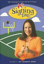 Signing Time Series 2 Vol 7: My Favorite Sport DVD 823860001570
