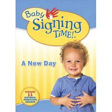 Baby Signing Time 3: A New Day DVD SKU 823860003390
