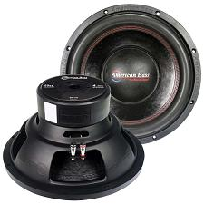 "American Bass 10"" Woofer 600 Watts Max 4 Ohm Svc"
