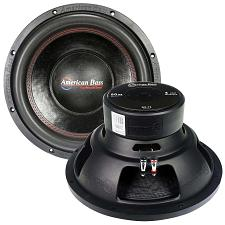 "American Bass 12"" Woofer 600 Watts Max 4 Ohm Svc"
