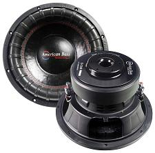 "American Bass Elite Series 12"" Woofer 1200 Rms 2400 Peak 3"" Vc"