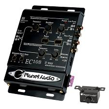 Planet 2-Way Electronic Crossover With Remote Woofer Level Contr
