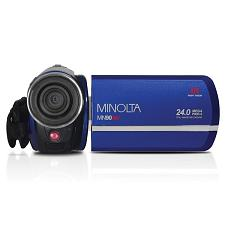 Minolta Mn90Nv-Bl Mn90Nv Full Hd 1080P Ir Night Vision Camcorder (Blue)