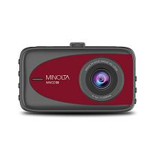 Minolta Mncd38-R Mncd38 1080P Full Hd Dash Camera With 3.2-Inch Lcd Screen (Red)