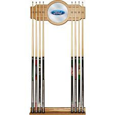 Ford Cue Rack with Mirror - Ford Oval