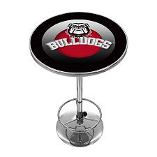 University of Georgia Chrome Pub Table - Honeycomb