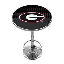 University of Georgia Chrome Pub Table - Reflection