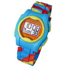 Global VibraLITE MINI Vibrating Watch with Multicolor Silicone Band VM-SMC