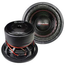 "American Bass Godfather 15"" 400 Oz Magnet 4"" Voice Coil Dual 1 O"