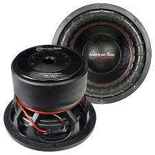 "American Bass Godfather 18"" 400 Oz Magnet 4"" Voice Coil Dual 1 O"