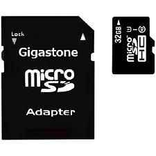Gigastone(R) Gs-2In1600X32Gb-R Prime Series Microsd(Tm) Card Wit