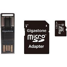 Gigastone(R) Gs-4In1600X128Gb-R Prime Series Microsd(Tm) Card 4-