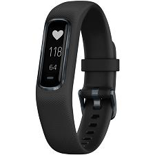 Garmin 010-01995-13 Vivosmart 4 Activity Tracker (Black With Mid