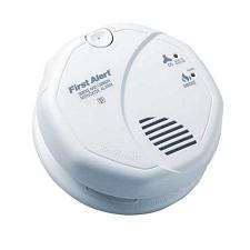 BRK Electronics SC7010B Hard Wired T3 Smoke/T4 Carbon Monoxide Alarm with Backu