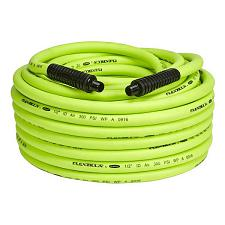 "Flexzilla Air Hose 1/2"" X 100' 1/2"" Mnpt Fittings"