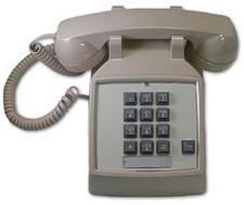 Cortelco Desk Phone 250044-Vba-20F With Flash