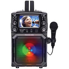 Karaoke Usa Gq450 Portable Cdg/Mp3G Karaoke Player With 4.3-Inch