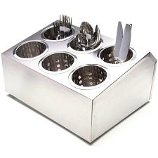 6-Compartment Industrial Utensil Holder KTBL-407