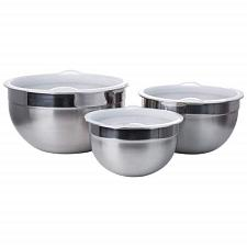 6pc stainless steel mixing bowl set-KTMX6