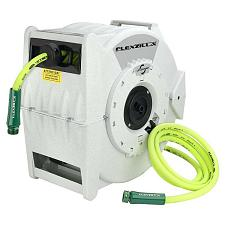 "Flexzilla Retractable Water Hose Reel With Levelwind Technology 1/2"" X 70'"