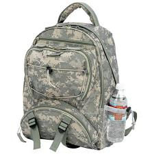 Extreme Pak Digital Camo Water Repellent Backpack