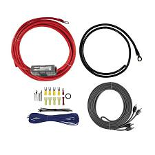 T-Spec V8-Ak8 V8 Series 8-Gauge 600-Watt Amp Installation Kit With Rca Cables
