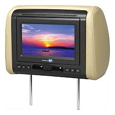 "Audiovox 7"" Headrest Monitor(Sold Each) With Dvd/Hdmi Output 3 C"