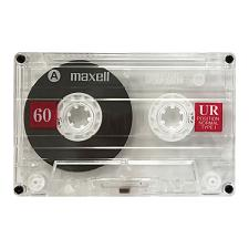 Maxell 109010 Ur60 Cassette Tape (Single)