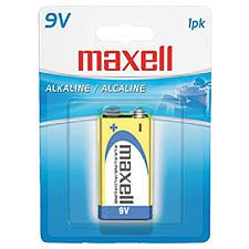 Maxell 721150 9-Volt Single Battery