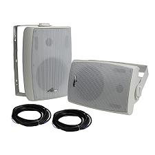 "Audiopipe Bluetooth 6.5"" (Pair) Indoor/Outdoor Weatherproof Loud"