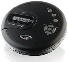 Gpx Portable Cd Player Antiskip Protection Fm Radio Stereo Earbu