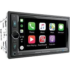 "Power Acoustik Cp-650 6.5"" In-Dash Double-Din Digital Media Receiver With Blueto"