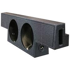 "Qbomb Dual 10"" Ported For Gm Crew Cab 2004-06"