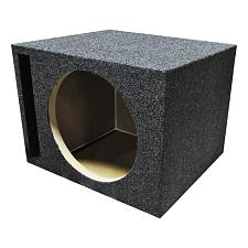 "Empty Woofer Box Single 10"" Mdf;Vented Bass Box"