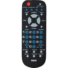 Rca Rcr504Br 4-Device Palm-Sized Universal Remote