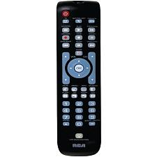 RCA RCRN03BR 3-Device Green Backlit Universal Remote