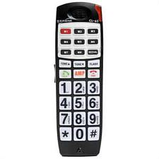 Big Button Amplified Talking Cid Cordless Handset