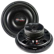 "American Bass 12"" Slim Mount Wooofer 500 Watts Max 4 Ohm Svc"
