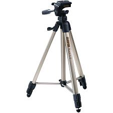 "SUNPAK 620-080 Tripods with 3-Way Panhead (Folded height: 20.8"";"