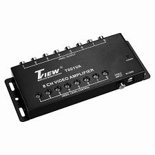 T-View 8 Channel Car Video Amplifier - Connect Up To 8 Monitors