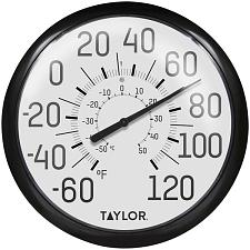 Taylor Precision Products 6700 13.25-Inch Big And Bold Dial Outd
