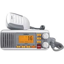 Uniden Um385 25-Watt Fixed-Mount Marine Radio With Dsc (White)