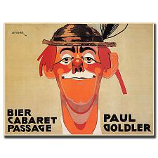 Bier Cabaret Passage Paul Golder by J. Steiner-Canvas Art